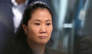 Keiko pide a virtuales congresistas de FP mantener su situación legal fuera del Parlamento