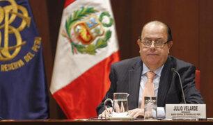 """Presidente del BCR calificó de populismo y """"tontería"""" reducir sueldos de altos funcionarios por crisis"""