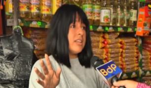 Ate: comerciantes piden que orden permanezca tras desalojo de ambulantes
