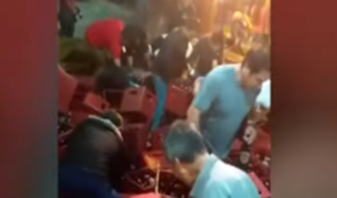 Moyobamba: asistentes a concierto se llevaron cerveza porque banda no llegó