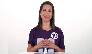Claudia Cornejo impulsará el matrimonio civil igualitario de llegar al Congreso