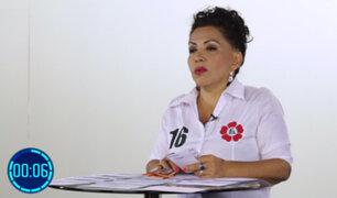 """Angela Villón: """"la pena de muerte para violadores no solucionará el problema de fondo"""""""
