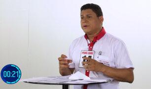 Yuri Castro sobre inmunidad: el Congreso no debe ser visto como refugio de futuras condenas