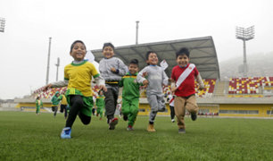 Vacaciones útiles: sedes de los Juegos Panamericanos abren sus puertas a niños y jóvenes