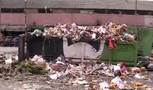 La Victoria: toneladas de basura invaden nuevamente las calles recuperadas