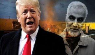 Donald Trump tras ataque que mató a Qasem Soleimaní: ''Actuamos para detener una guerra''