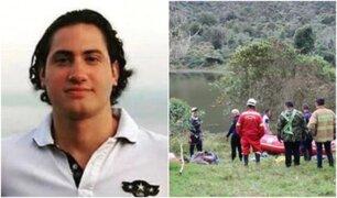Continúa búsqueda de joven desaparecido tras caer al río Cañete