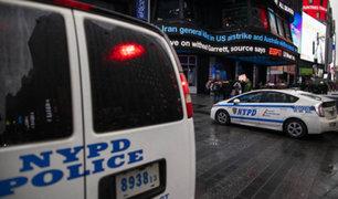 """Nueva York  aumenta medidas de seguridad ante eventual """"represalia"""" de Irán"""