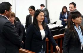 Keiko Fujimori: suspenden audiencia de pedido de prisión preventiva hasta el miércoles