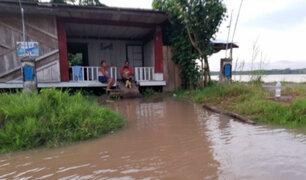 Loreto: desborde de río Marañón deja centenares de damnificados