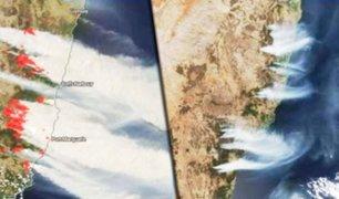 Incendios en Australia: NASA publica impresionantes fotos desde el espacio