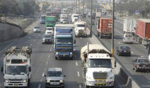 Panamericana Sur: comenzaron a imponer multas por 'Pico y placa' para camiones