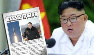 """Corea del Norte: periódico oficial advierte con atacar de """"forma inmediata"""" ante amenazas"""