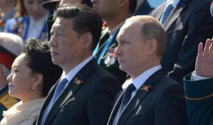 China y Rusia acordaron medidas para asegurar la paz en Medio Oriente