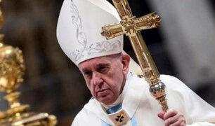 Papa Francisco hizo un llamado a la paz ante tensión en Oriente Medio