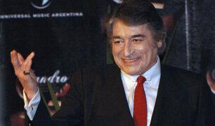 Sandro en el recuerdo: hace 10 años murió el famoso cantante argentino