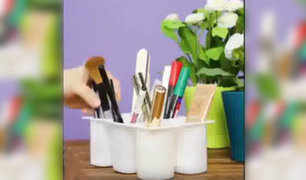 Interesantes y  divertidas formas de  reciclar en casa