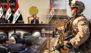 Irak exige salida de tropas de EEUU tras el asesinato de Soleimani