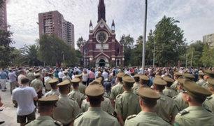 Chile: celebran misa en histórica  iglesia quemada por manifestantes