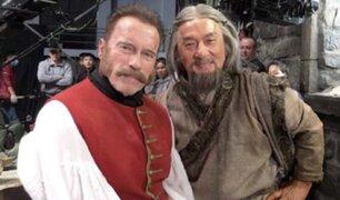 """Jackie Chan y Arnold Schwarzenegger juntos en film """"El Misterio del Dragón"""""""
