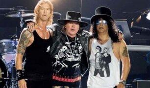Guns N' Roses demandará a un fan por difundir material inédito de la banda de rock