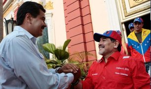 Diego Armando Maradona volvió a respaldar a Nicolás Maduro