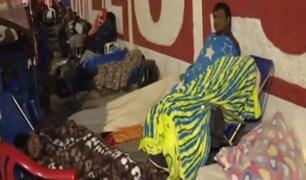 El Agustino: más de 200 padres acampan en alrededores de colegio para conseguir vacante