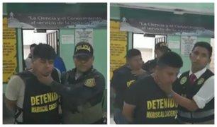 SJL: capturan a cuatro presuntos delincuentes que intentaron asaltar hostal