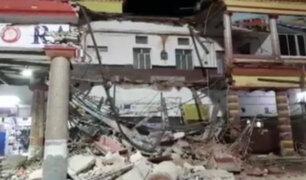 India: un muerto y cinco heridos deja derrumbe de estación de trenes