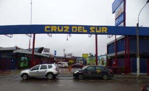 Cruz del Sur: clausuran temporalmente terminal ubicado en av. Javier Prado