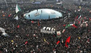Irán: millones abarrotaron calles de Teherán para despedir a Qasem Soleimani