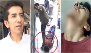 Hugo Bustíos: hijo de periodista resultó herido durante robo de su celular