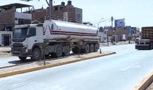 Nueva vía en Panamericana Sur: conductores no respetan señaléticas de velocidad