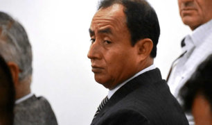 Gregorio Santos: PJ declara reo contumaz a exgobernador y ordena su captura