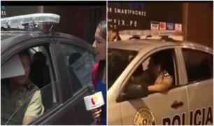 La Molina: amenazan a hombre que grabó a policías indiferentes ante mujer agredida