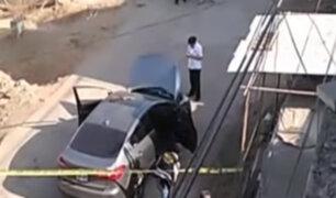 Policía abatió a delincuente en San Juan de Miraflores