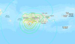 Sismo de magnitud 6.5 sacude Puerto Rico