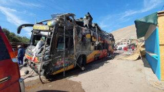 Sutran suspende autorización otorgada a Cruz del Sur para viajes hacia Arequipa