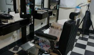 Los Olivos: delincuentes asaltan barbería y se llevan objetos valorizados en S/10 mil