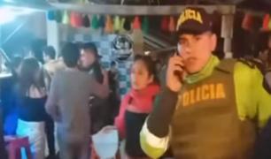 Cajamarca: desconocidos lanzaron bomba lacrimógena en discoteca