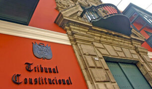 Vacancia presidencial: TC estima resolver demanda competencial en diciembre