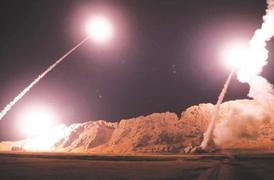 Revelan primeras imágenes de 'venganza de Irán' contra base de EEUU en Irak