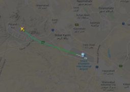 Irán: avión con 180 personas a bordo se estrella
