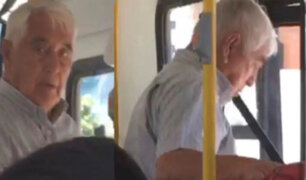 ¿Qué delitos enfrentará el sujeto que se masturbó frente a joven en bus de transporte público?
