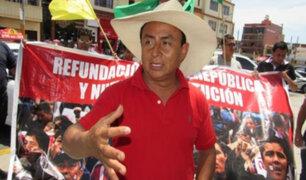 Gregorio Santos: actos de corrupción habrían convertido a Cajamarca en la región más pobre
