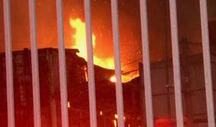 Mercado Huamantanga: voraz incendio dejó 20 puestos reducidos a cenizas