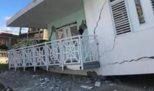 Puerto Rico: terremoto de 6.5 dejó una persona muerta