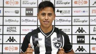 """Lecaros en su presentación con Botafogo: """"Neymar y Messi tienen mi mismo tipo de juego"""""""