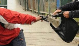 Ladrón arrancha cartera y en su huída se le cae el celular y  el DNI