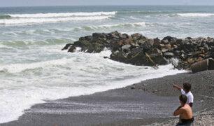 Marina de Guerra advirtió de oleajes ligeros hasta el sábado 17 de abril